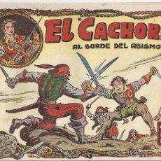 Tebeos: EL CACHORRO Nº 52, IRANZO. EDITORIAL BRUGUERA, ORIGINAL 1953. EL CACHORRO AL BORDE DEL ABISMO. Lote 245426150