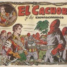 Tebeos: EL CACHORRO Nº 53, IRANZO. EDITORIAL BRUGUERA, ORIGINAL 1953. EL CACHORRO Y LOS ENMASCARADOS. Lote 55154803