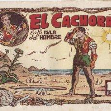 Tebeos: EL CACHORRO Nº 56, IRANZO. EDITORIAL BRUGUERA, ORIGINAL 1953. EL CACHORRO EN LA ISLA DEL HAMBRE. Lote 55154958
