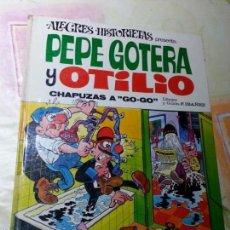 Tebeos: PEPE GOTERA Y OTILIO - CHAPUZAS A GO-GO - ALEGRES HISTORIETAS Nº 2 (BRUGUERA, 1971) - IBAÑEZ. Lote 55158097
