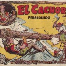 Tebeos: EL CACHORRO Nº 78, IRANZO. EDITORIAL BRUGUERA, ORIGINAL 1954. EL CACHORRO PERSEGUIDO. Lote 245426020