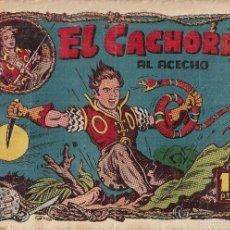 Tebeos: EL CACHORRO Nº 79, IRANZO. EDITORIAL BRUGUERA, ORIGINAL 1954. EL CACHORRO AL ACECHO. Lote 55159331