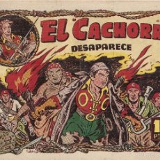 Tebeos: EL CACHORRO Nº 81, IRANZO. EDITORIAL BRUGUERA, ORIGINAL 1954. EL CACHORRO DESAPARECE. Lote 55159383