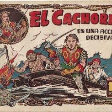 Tebeos: EL CACHORRO Nº 82, IRANZO. EDITORIAL BRUGUERA, ORIGINAL 1954. EL CACHORRO EN UNA ACCIÓN DECISIVA. Lote 55159408
