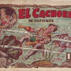 Tebeos: EL CACHORRO Nº 87, IRANZO. EDITORIAL BRUGUERA, ORIGINAL 1954. EL CACHORRO SE DEFIENDE. Lote 55159602