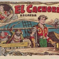 Tebeos: EL CACHORRO Nº 88, IRANZO. EDITORIAL BRUGUERA, ORIGINAL 1954. EL CACHORRO REGRESA. Lote 55159636