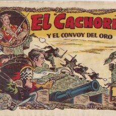 Tebeos: EL CACHORRO Nº 89, IRANZO. EDITORIAL BRUGUERA, ORIGINAL 1954. EL CACHORRO Y EL CONVOY DEL ORO. Lote 55159667