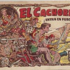 Tebeos: EL CACHORRO Nº 92, IRANZO. EDITORIAL BRUGUERA, ORIGINAL 1954. EL CACHORRO ENTRA EN FUEGO. Lote 55159727