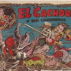 Tebeos: EL CACHORRO Nº 93, IRANZO. EDITORIAL BRUGUERA, ORIGINAL 1954. EL CACHORRO Y SUS CAMARADAS. Lote 55159759
