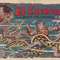 Tebeos: EL CACHORRO Nº 95, IRANZO. EDITORIAL BRUGUERA, ORIGINAL 1955. EL CACHORRO EN EL MAR DE LOS SARGAZOS. Lote 55159847