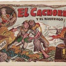 Tebeos: EL CACHORRO Nº 96, IRANZO. EDITORIAL BRUGUERA, ORIGINAL 1955. EL CACHORRO Y EL NÁUFRAGO. Lote 55159877