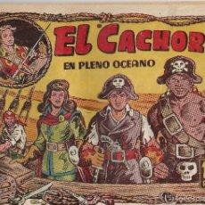 Tebeos: EL CACHORRO Nº 97, IRANZO. EDITORIAL BRUGUERA, ORIGINAL 1955. EL CACHORRO EN PLENO OCÉANO. Lote 245425865