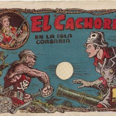 Tebeos: EL CACHORRO Nº 99, IRANZO. EDITORIAL BRUGUERA, ORIGINAL 1955. EL CACHORRO EN LA ISLA CORSARIA. Lote 55160028