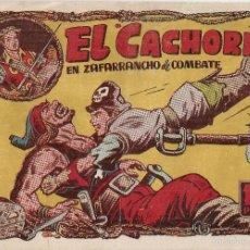 Tebeos: EL CACHORRO Nº 100, IRANZO. EDITORIAL BRUGUERA, ORIGINAL 1955. EL CACHORRO EN ZAFARRANCHO DE COMBATE. Lote 55160085
