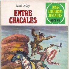 Tebeos - Entre chacales (Karl May) - Joyas Literarias Juveniles, Bruguera, 1972 - 55160816