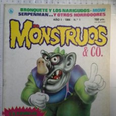 Tebeos: COMIC BRUGUERA MONSTRUOS 1 CON PÓSTER KA. Lote 55176121
