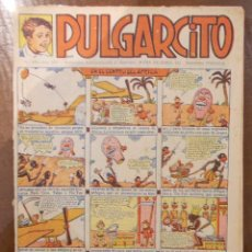 Tebeos: PULGARCITO 660-ED.EL GATO NEGRO-AÑOS 30 UNICO EN TODOCOLECCION. Lote 55318885