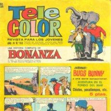 Livros de Banda Desenhada: TELE COLOR Nº 160 CON BONANZA - AVENTURA EN EL FONDO DEL MAR. Lote 55325140