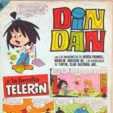 Tebeos: DIN DAN Nº 27 - FAMILIA TELERIN - - BRUGUERA 1965. Lote 121337660