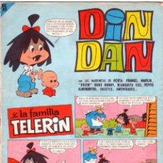 Tebeos: DIN DAN Nº 85 - FAMILIA TELERIN - - BRUGUERA 1966. Lote 121337711