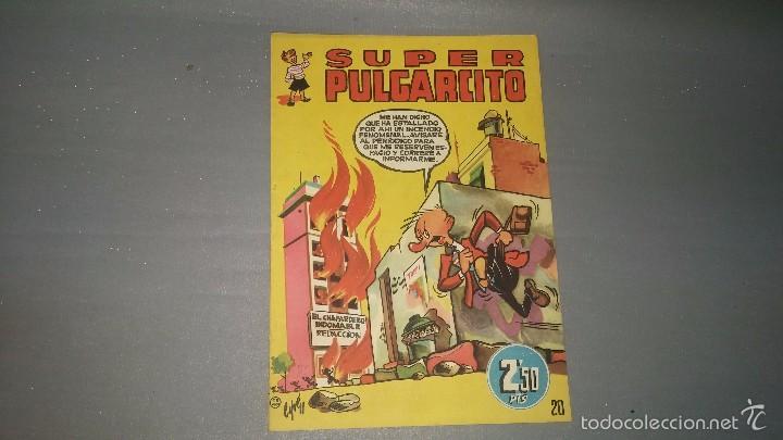 1018- SUPER PULGARCITO NUMERO 20 AÑO 1950 MUY BUEN ESTADO DIFICIL (Tebeos y Comics - Bruguera - Pulgarcito)
