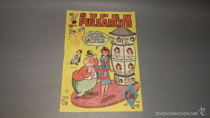 1018- SUPER PULGARCITO NUMERO 31 AÑO 1951 DIFICIL (Tebeos y Comics - Bruguera - Pulgarcito)
