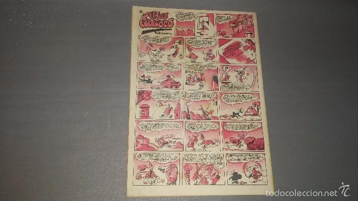Tebeos: 1018- SUPER PULGARCITO NUMERO 31 AÑO 1951 DIFICIL - Foto 2 - 55368933
