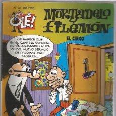 Tebeos: OLE MORTADELO Y FILEMON 72. Lote 55375134