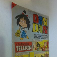 Tebeos: DIN DAN Y LA FAMILIA TELERÍN LOTE CON 7 NUMEROS / BRUGUERA ORIGINAL 1965. Lote 55400808
