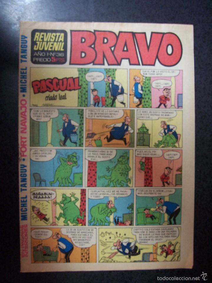BRAVO Nº 36 DE EDITORIAL BRUGUERA (Tebeos y Comics - Bruguera - Bravo)