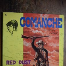 Tebeos: COMANCHE Nº 5, RED DUST, BRUGUERA, 1983. Lote 55700670
