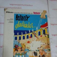 Tebeos: ASTÉRIX - GLADIADOR - BRUGUERA - 1968. Lote 55774586