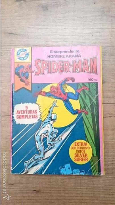 COMIC SPIDERMAN COLECCIÓN BRUGUERA POCKET DE ASES 6 BIEN CUIDADO (Tebeos y Comics - Bruguera - Otros)