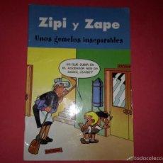 Tebeos: TEBEO DE ZIPI Y ZAPE 'UNOS GEMELOS INSEPARABLES'. Lote 54793638
