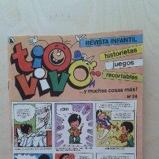 Tebeos: TIO VIVO -- Nº 24 -- BRUGUERA, 1986. Lote 55889975