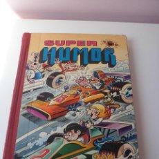 Tebeos: LIBRO SUPER HUMOR MORTADELO BRUGUERA VOLUMEN XV 1977 LOMO ROJO. Lote 55912286