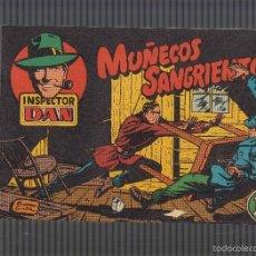Tebeos: INSPECTOR DAN Nº 1 , FACSIMIL MUÑECOS SANGRIENTOS. Lote 55920589
