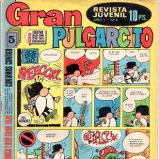 Tebeos: Nº 11 GRAN PULGARCITO EDITORIAL BRUGUERA 1969. Lote 55932946