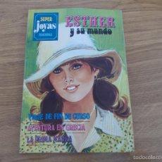 Tebeos: SUPER JOYAS FEMENINAS. ESTHER Y SU MUNDO Nº 7. Lote 56007308