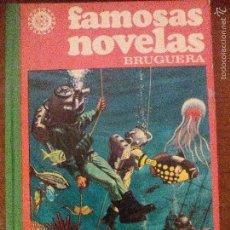 Tebeos: FAMOSAS NOVELAS - BRUGUERA - VOLUMEN I - 3.900 ILUSTRACIONES A TODO COLOR. Lote 56001111