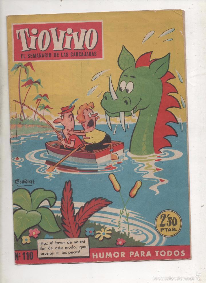 TIO VIVO Nº10. BRUGUERA . 1ª EPOCA - 2,50 PTAS .DA (Tebeos y Comics - Bruguera - Tio Vivo)