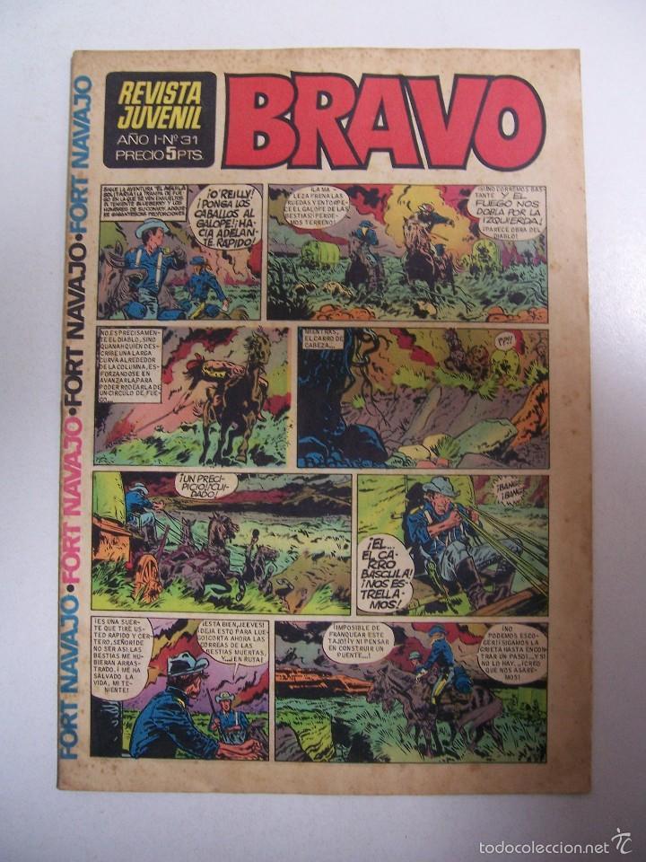 BRAVO Nº 31 DE EDITORIAL BRUGUERA (Tebeos y Comics - Bruguera - Bravo)
