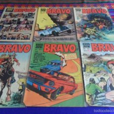 Tebeos: REVISTA JUVENIL BRAVO NºS 8 10. BRUGUERA 1968. 5 PTS. SUELTOS.. Lote 56098521