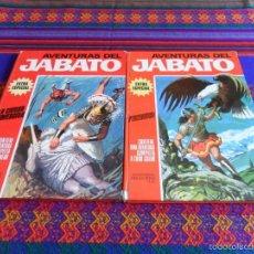 Tebeos: JABATO COLOR EXTRA ALBUM ROJO NºS 3 Y 6. BRUGUERA 1970. PERSEGUIDOS Y LA CIUDAD SUMERGIDA.. Lote 56119819