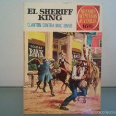 Tebeos: GRANDES AVENTURAS JUVENILES EL SHERIFF KING CLANTON CONTRA MAC DIVER Nº 14 1972 .. Lote 56149304
