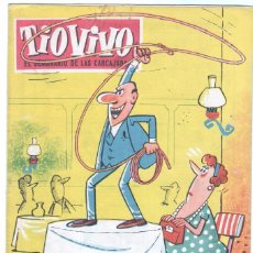 Tebeos: TIO VIVO 1ª ÉPOCA Nº 89 CRISOL 1958. Lote 56157834