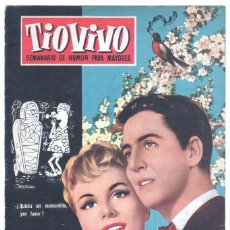 Tebeos: TIO VIVO 1ª ÉPOCA Nº 64 CRISOL 1958. Lote 56157859