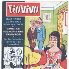 Tebeos: TIO VIVO 1ª ÉPOCA Nº 48 CRISOL 1958. Lote 56158006