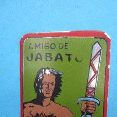 Tebeos: CHAPA DE ALUMINIO , ESCUDO AMIGO DE JABATO , ORIGINAL. Lote 56171532