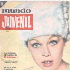 Tebeos: MUNDO JUVENIL Nº 46 ORIGINAL EDI. BRUGUERA 1963 - MARISOL, LANDERS SCHOOL. Lote 56171656